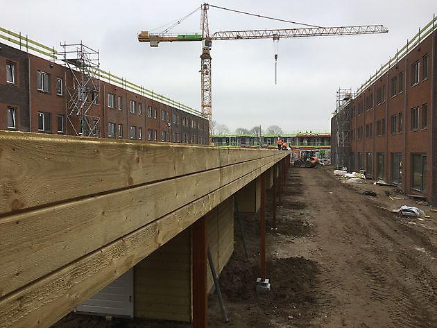 Bergingen met luifels en carports te Utrecht - Houtbouw Lageman B.V. Zuidbroek