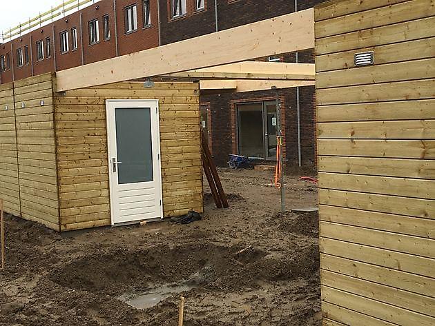 Montagebedrijf voor prefab houten constructies - Houtbouw Lageman B.V. Zuidbroek