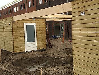 Bergingen met luifels en carports te Utrecht Houtbouw Lageman B.V. Zuidbroek